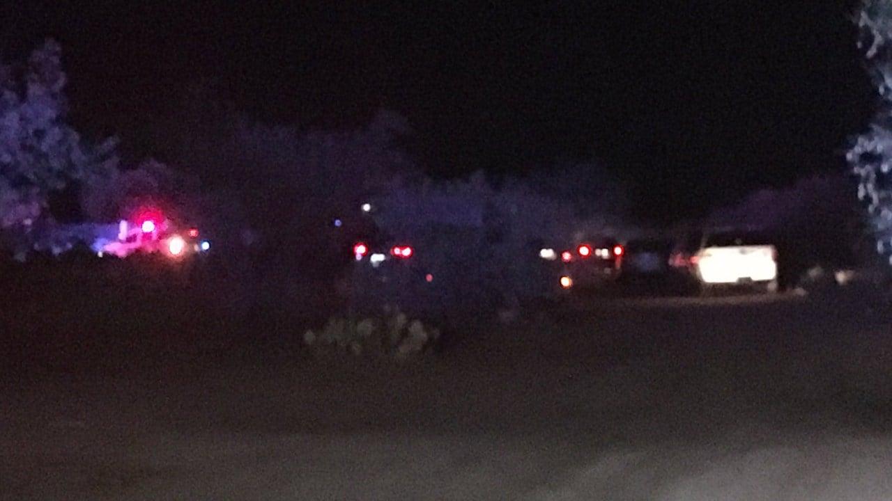Scene of the deputy-involved shooting near Tucson on Friday. (Source: Cynthia Washington / KOLD)