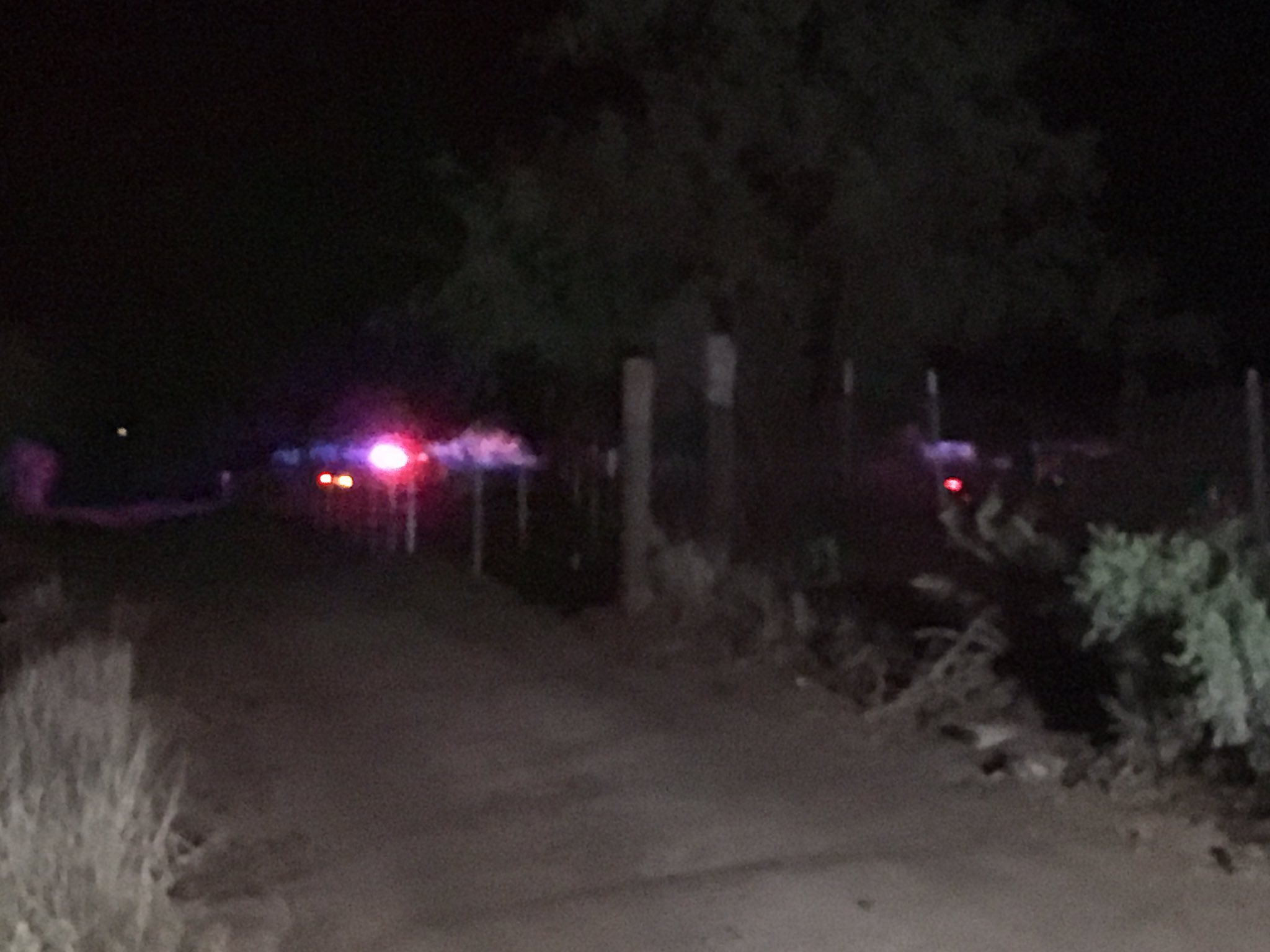 Scene of the deputy-involved shooting near Tucson on Friday. (Source: Cynthia Washington / KOLD)