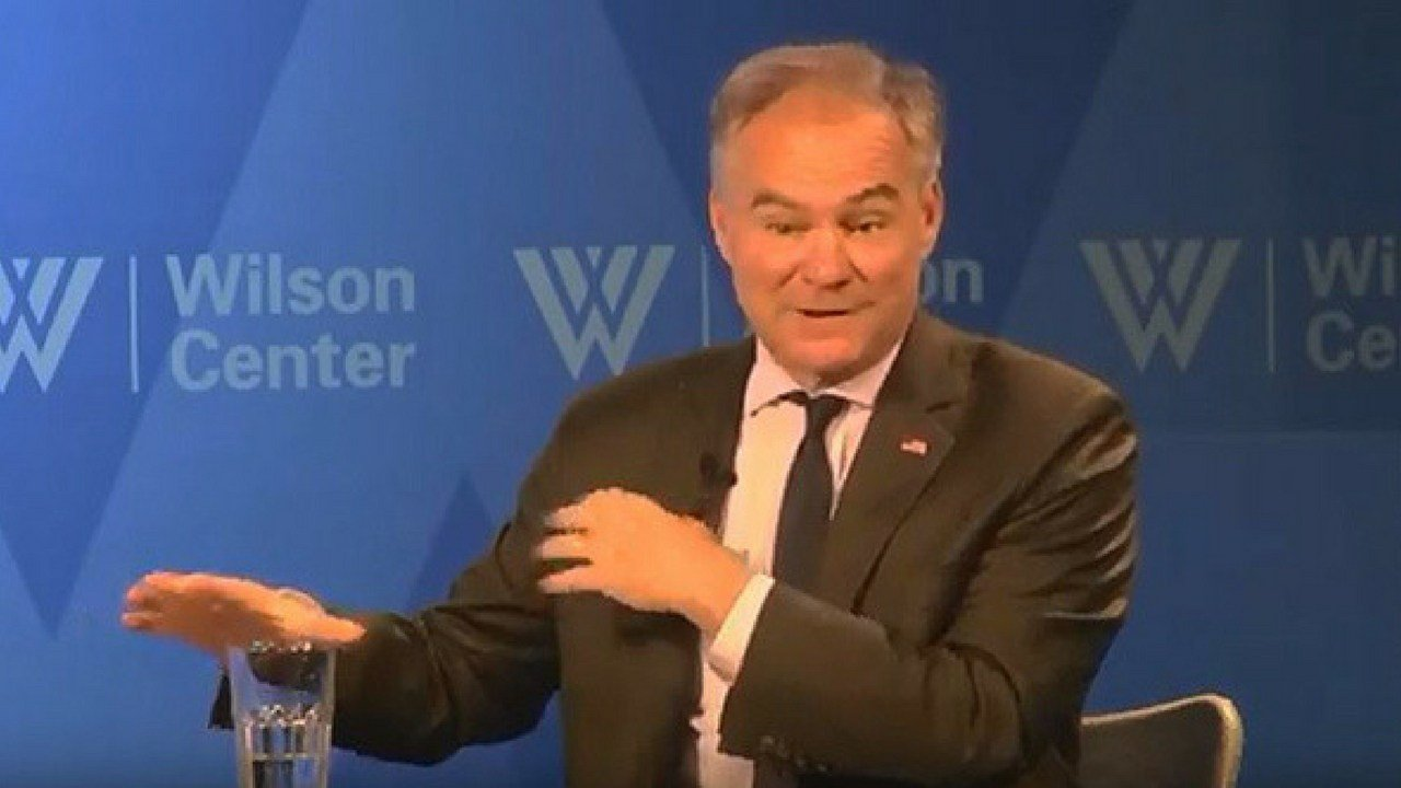 "Sen. Tim Kaine, D-Virginia, said the bill he co-sponsored with Sen. Jeff Flake, R-Arizona, is not aimed at stripping the president of any powers but merely reining in ""zombie"" authorizations and reasserting the role of Congress. (Cronkite News)"