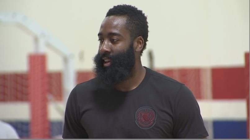 Less than a week after signing the richest contract extension in NBA history, former Sun Devils star James Harden was back in the Valley coaching up local kids. (Source: 3TV/CBS 5)