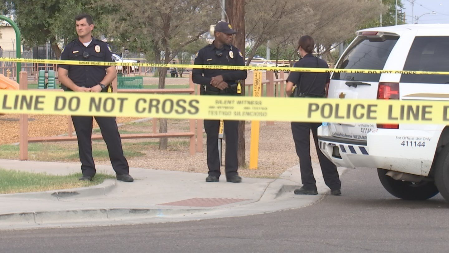 A 15-year-old girl is dead and her 18-year-old brother was detained after a shooting near downtown Phoenix on Friday evening, police said. (Source: 3TV/CBS 5)
