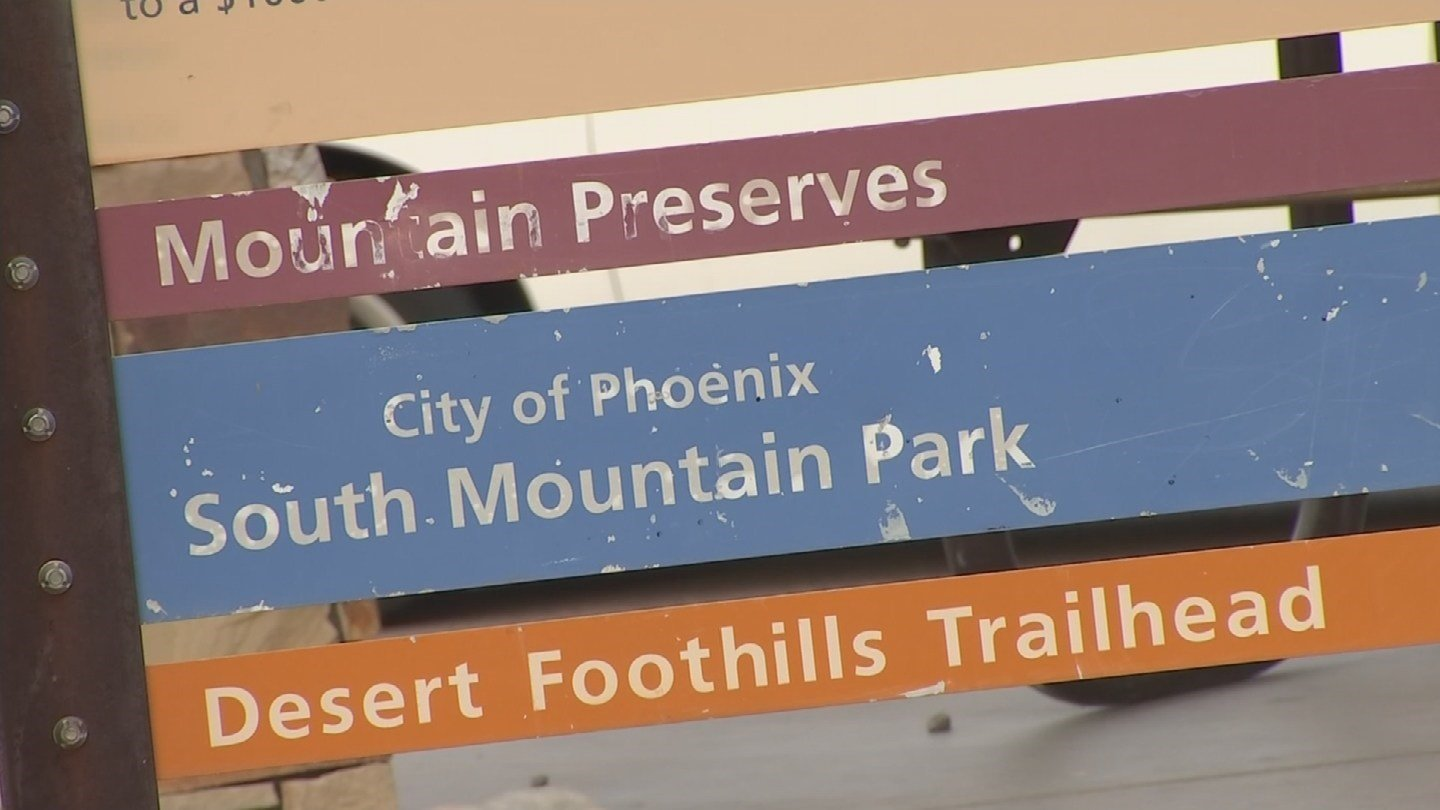 South Mountain Park Trails Master Plan continues through 2018. (Source 3TV/ CBS 5)