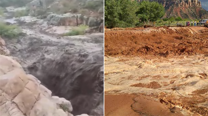 There have been a few deadly flooding incidents in slot canyons in the U.S. (Source: 3TV/CBS 5)