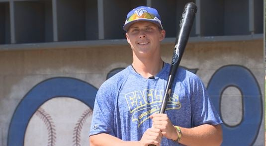 High School Home Run Derby Champ Nolan Gorman. (Source: 3TV/CBS 5)