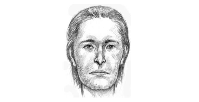 Tempe police released a sketch of the man found in Tempe Town Lake. (Source: Tempe police)