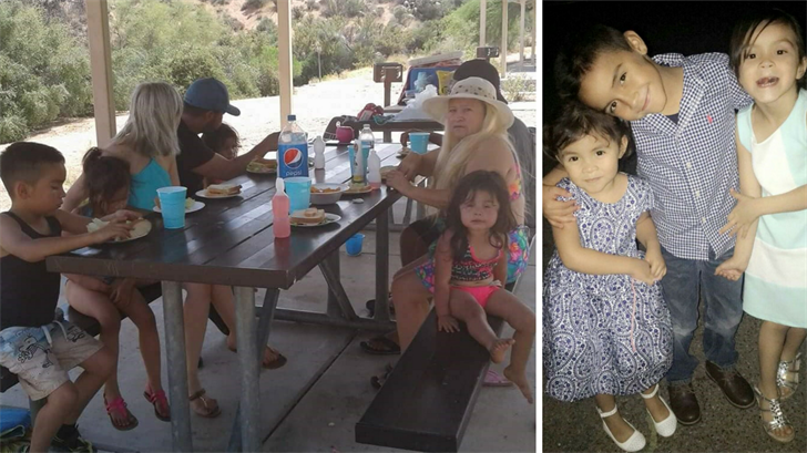 A large family was washed away by a flash flood on Saturday and the victims were identified on Monday. (Source: Iris Garnica)