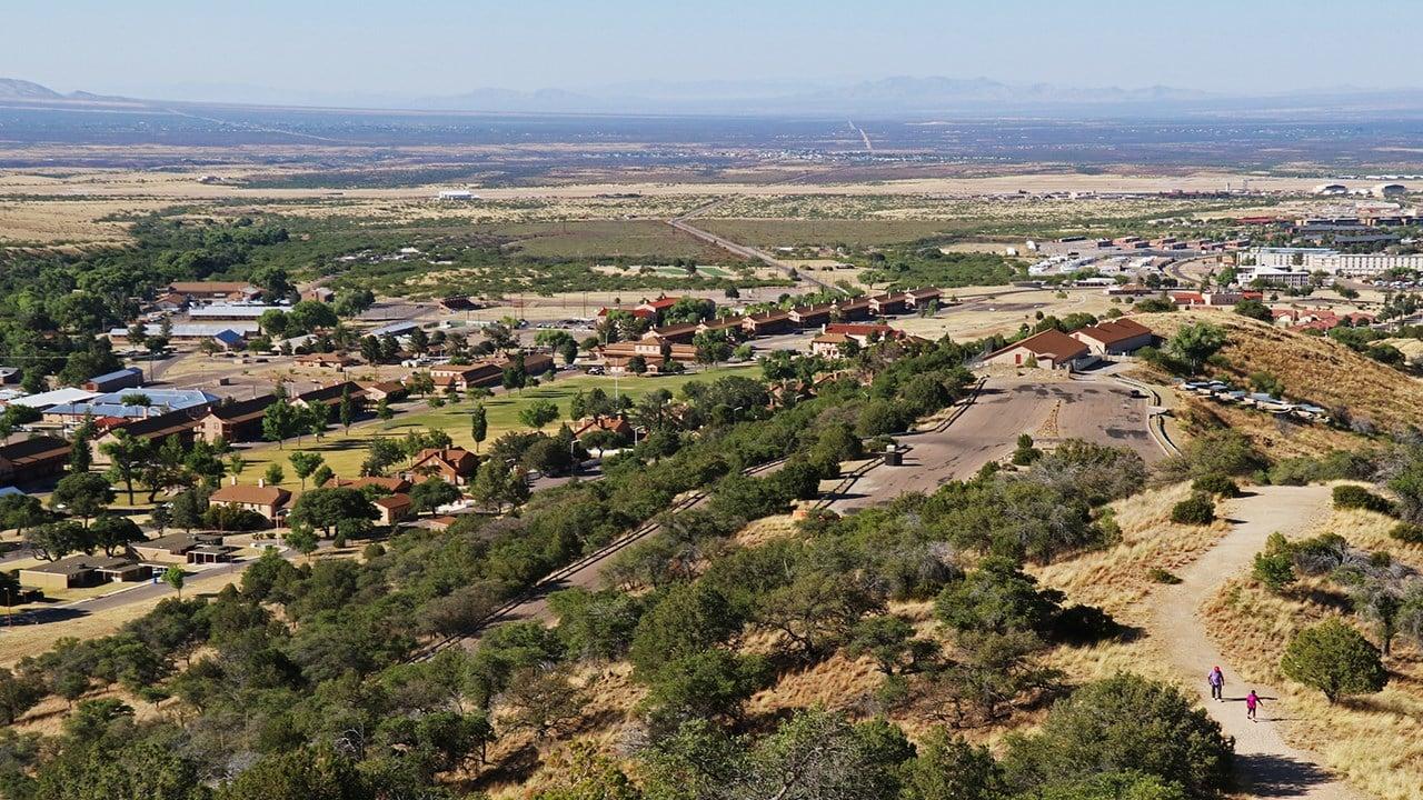 Fort Huachuca's historic post.  (17 July 2017) [Source: City of Sierra Vista]