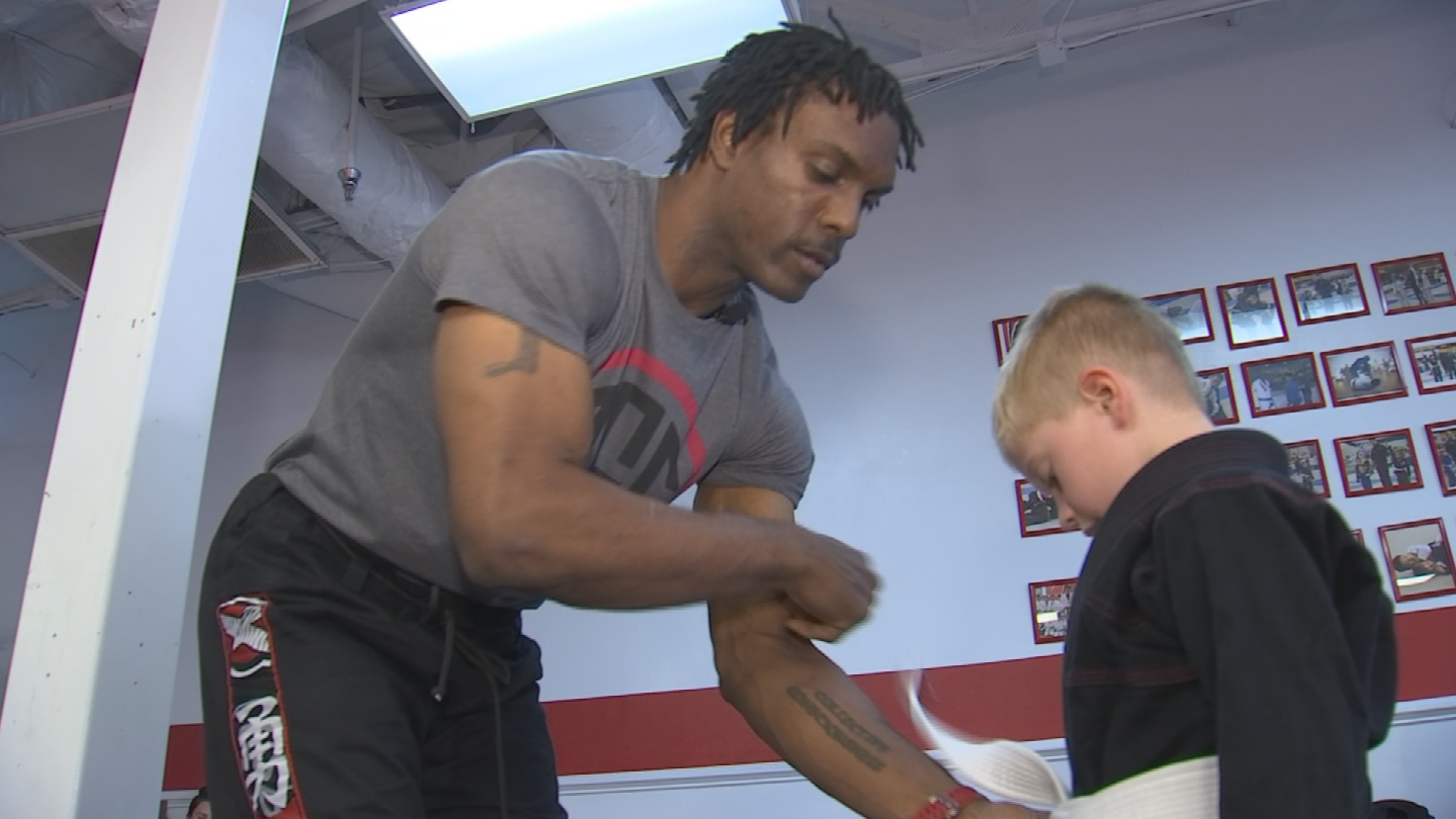 These days he's passing his knowledge to others in his own Brazilian Jiu-Jitsu Academy. (Source: 3TV/CBS 5)