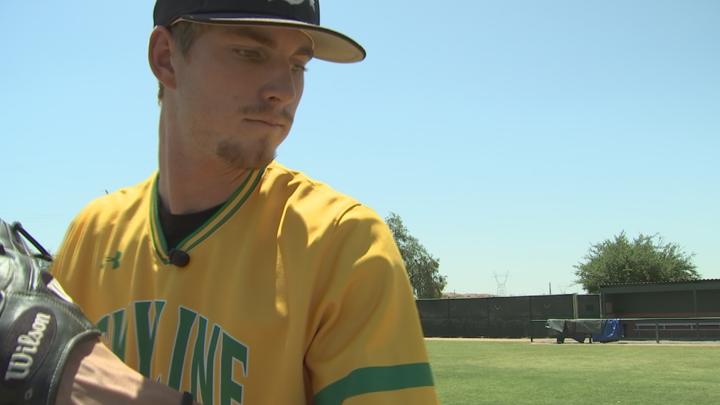 Skyline's Boyd Vander Kooi is in that elite category winning the Arizona Gatorade Player of the Year. (Source: 3TV/CBS 5)