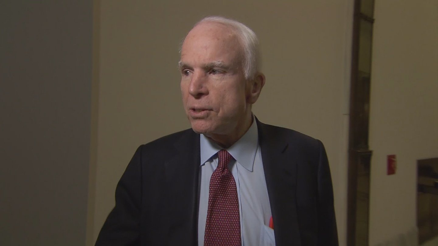 Senator John McCain Diagnosed with 'Aggressive' Brain Cancer