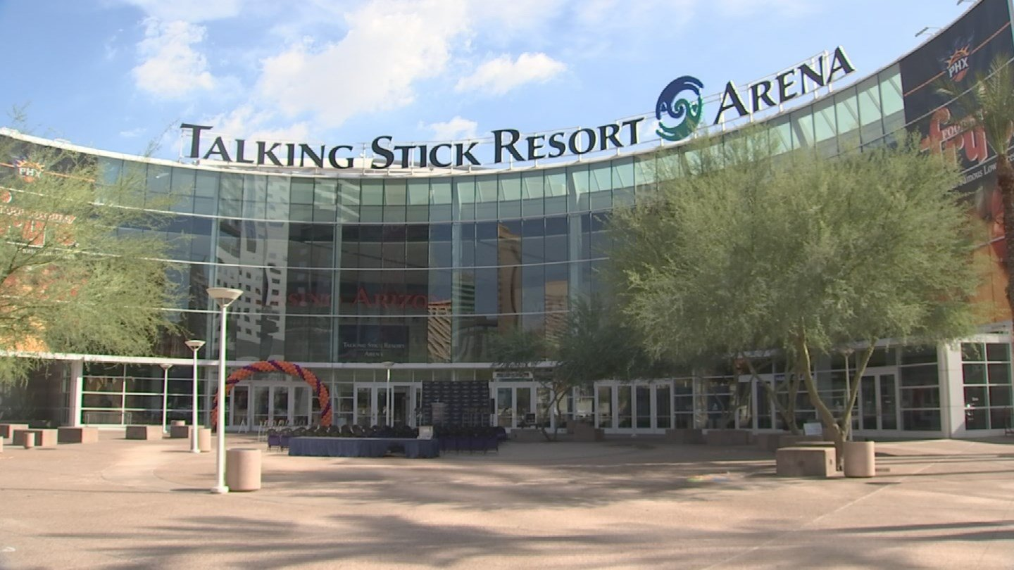 Talking Stick Resort Arena was opened in 1992 and is one of the oldest arenas in the NBA. (Source: 3TV/CBS 5)