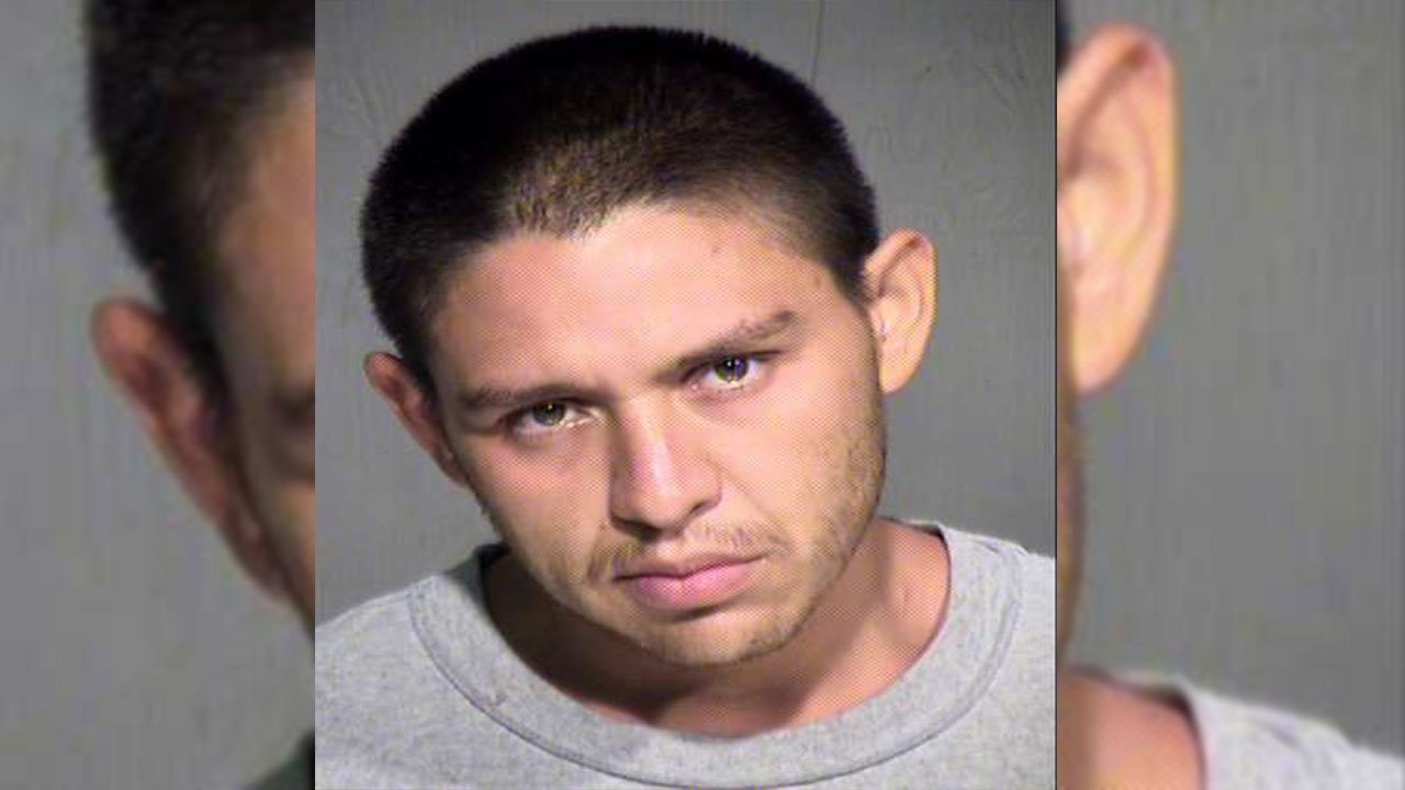 A juvenile witness was forced at knife point to clean up a murder scene, according to Phoenix police. (Source: MCSO)