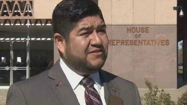Rep. Jesus Rubalcava, D-Gila Bend, announced Wednesday that his resignation is effective on July 28. (Source: 3TV/CBS 5)