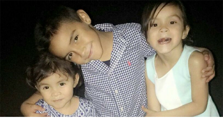 This is a picture of 7-year-old Danial, 5-year-old Mia and 3-year-old Emily. (Source: Iris Garnica)