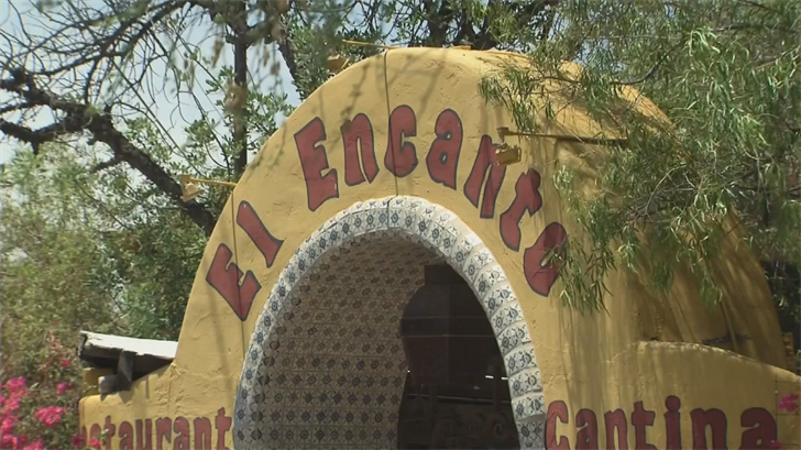 The bosses at El Encanto Mexican restaurant in Cave Creek didn't want Maria Raya-Garcia to be gone during their busiest days, but they finally relented. (Source: 3TV/CBS 5)