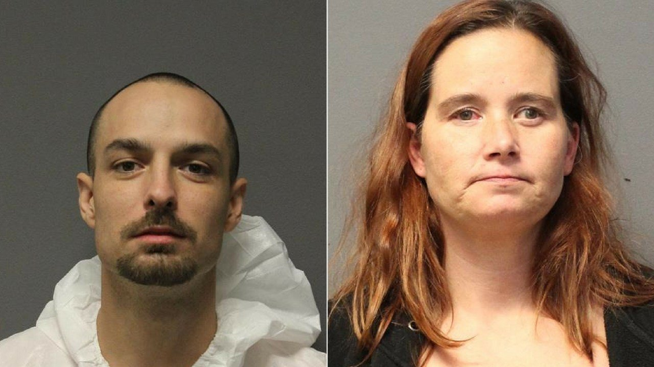 28-year-old Levi Jones and 45-year-old Cher Loken. (Source: YCSO)
