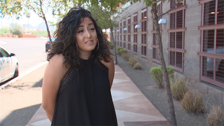 Mitzi Castro is a dreamer who has lived in Arizona since she was ayear old.Castro is a little skeptical about the latest immigration proposal. (Source: 3TV/CBS 5)