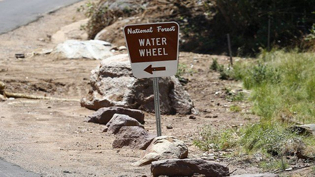 Water Wheel day use area. (July 21, 2017) [Source: Tonto National Forest]
