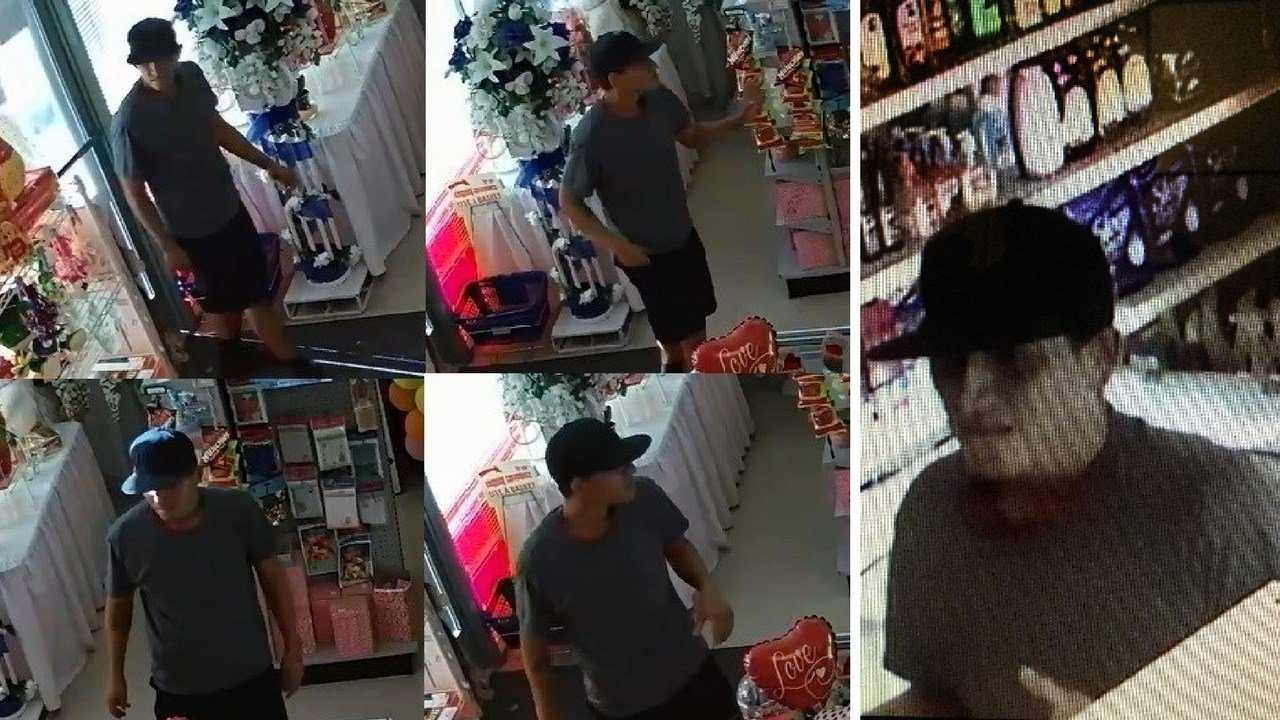 Avondale Police are looking for a man who robbed a party supply store. (Source: Avondale Police Department)