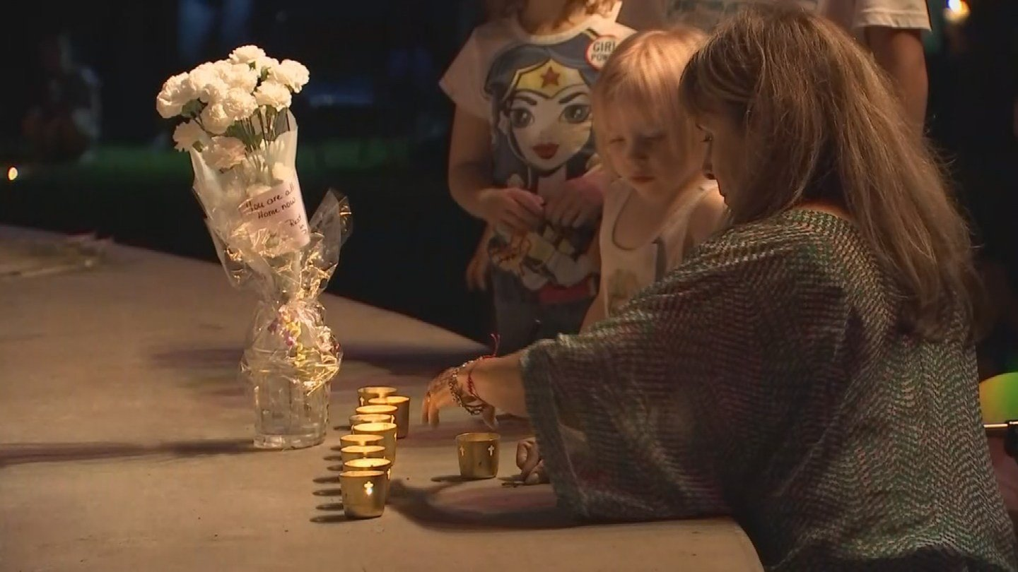 After the tragedy, the John Carpino Band and a local business owner thought turning it into a vigil would be a good idea for the town to come together to heal. (Source: 3TV/CBS 5)