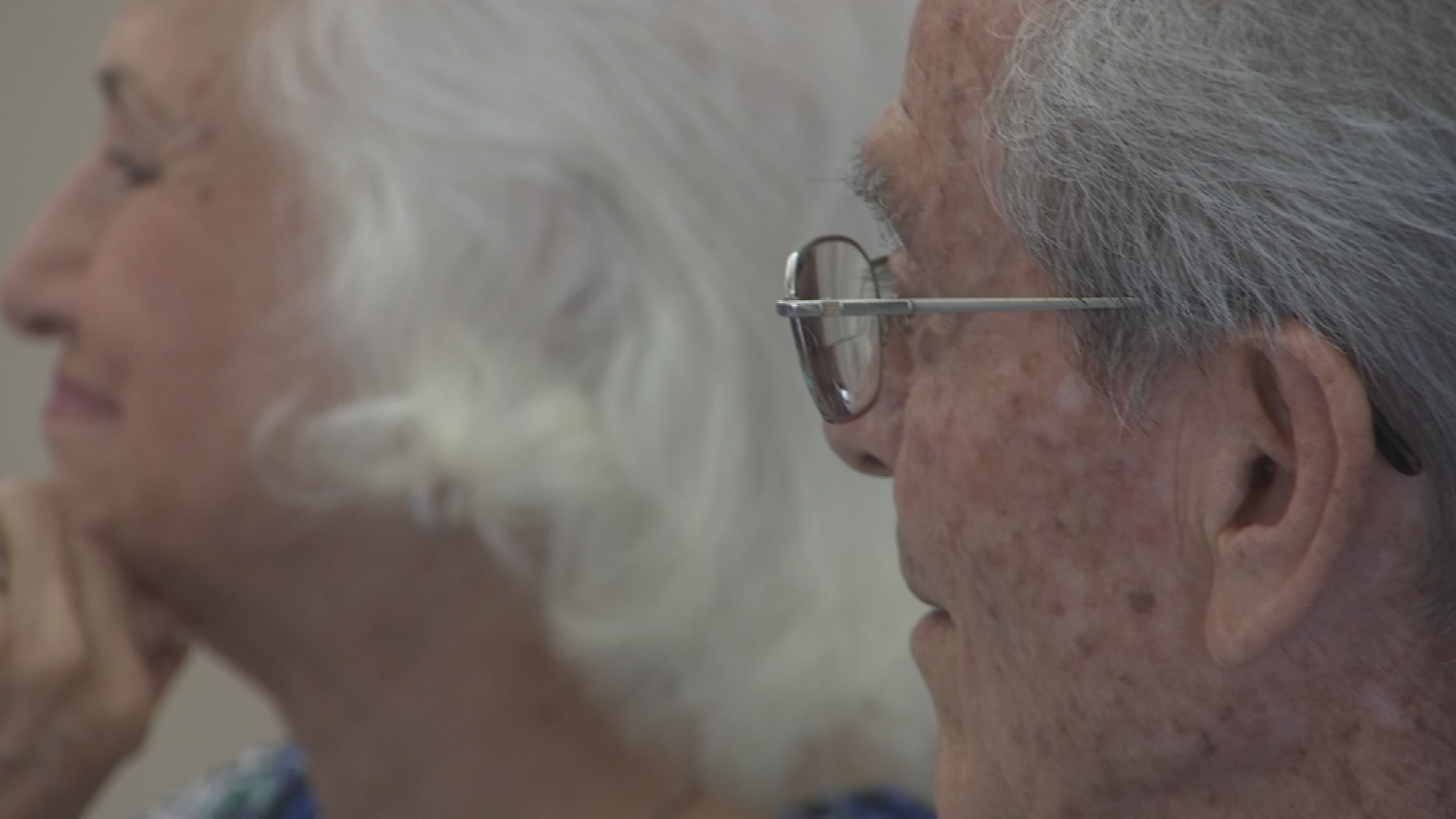 Ed and Lillie Sandoval are celebrating 76 years of marriage. (Source: 3TV/CBS 5)