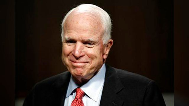 Sen. John McCain plans to return to the Senate on Tuesday. (Source: The Associated Press)