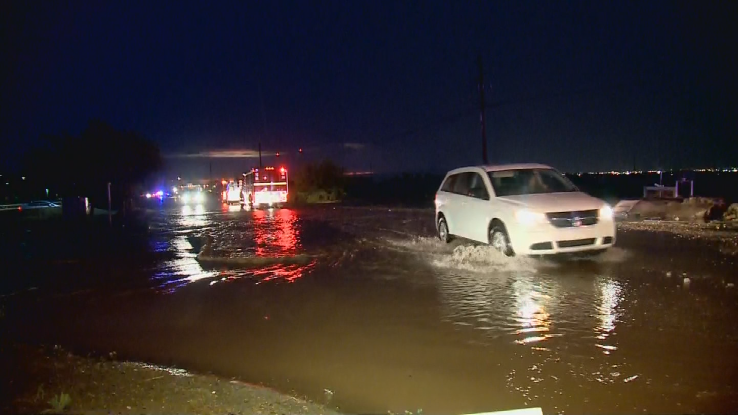 Currently, cities and towns have requested $2.3 billion to build new systems that can move storm water out of harm's way, according to officials with the Maricopa County Flood Control District. (Source: 3TV/CBS 5)