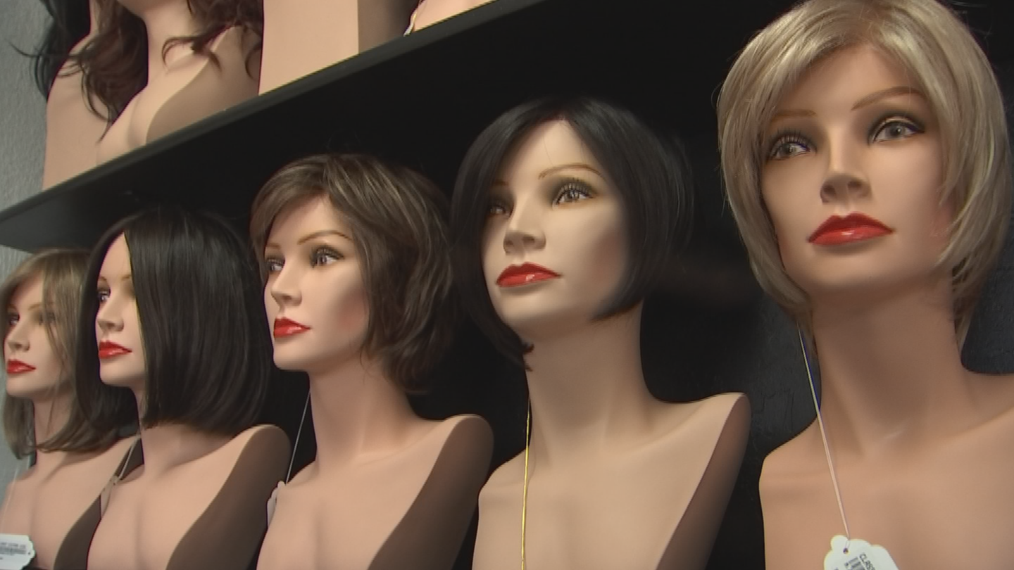 A wig can be costly, somewhere in the ballpark to $150 to $500. (Source: 3TV/CBS 5)