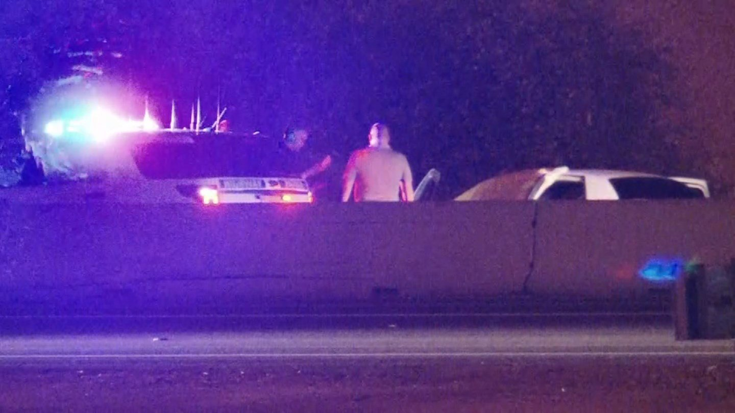 The highway was shut down for almost five hours as DPS investigated the scene. (Source: 3TV/CBS 5)