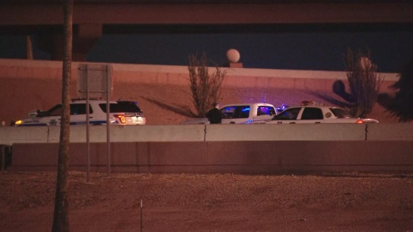 DPS said troopers responded to a call around 11:10 p.m. Monday night on the Loop 202 under Loop 101. (Source: 3TV/CBS 5)