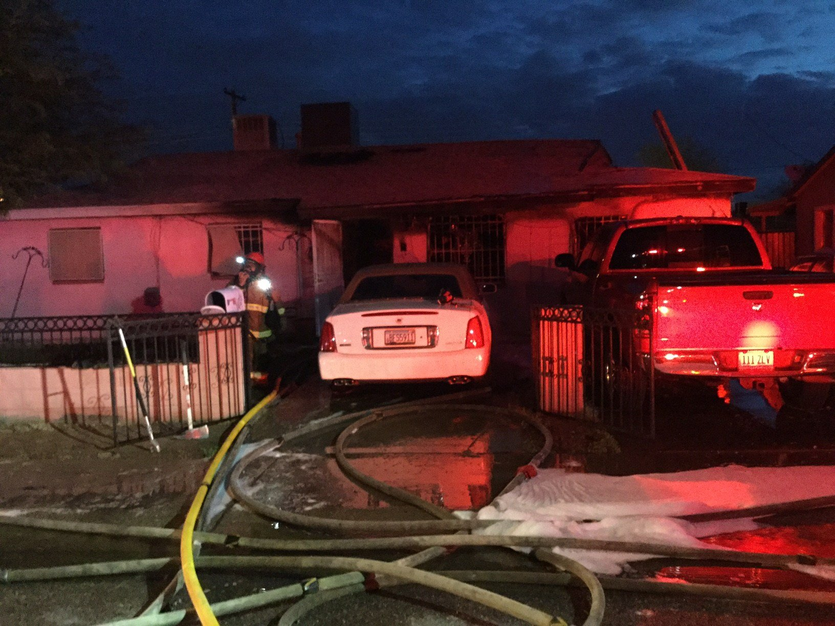 Three children, who were home at the time of the fire, were also evaluated for precautionary reasons. (Source: Phoenix fire)