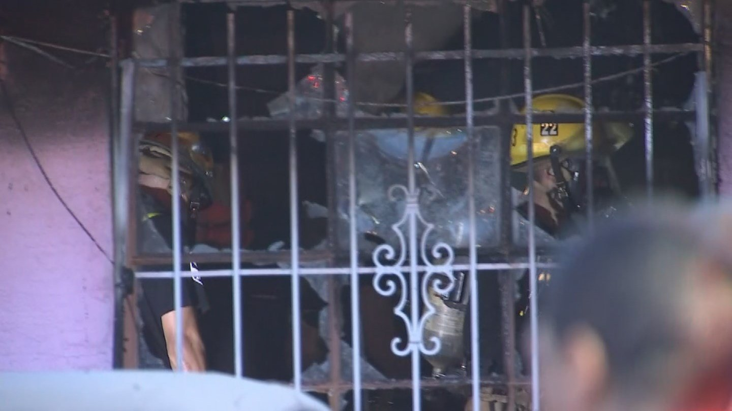 A man was also transported with smoke inhalation. (Source: 3TV/CBS 5)