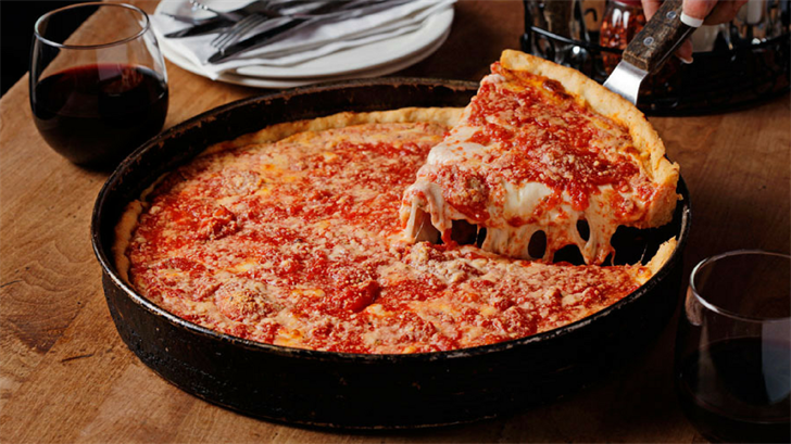 The Lou Malnati's famous deep dish. (Source: Lou Malnati's Website)