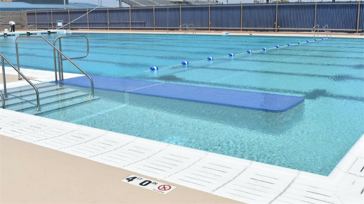 Local newly renovated public pool. (Source: City of Tempe)