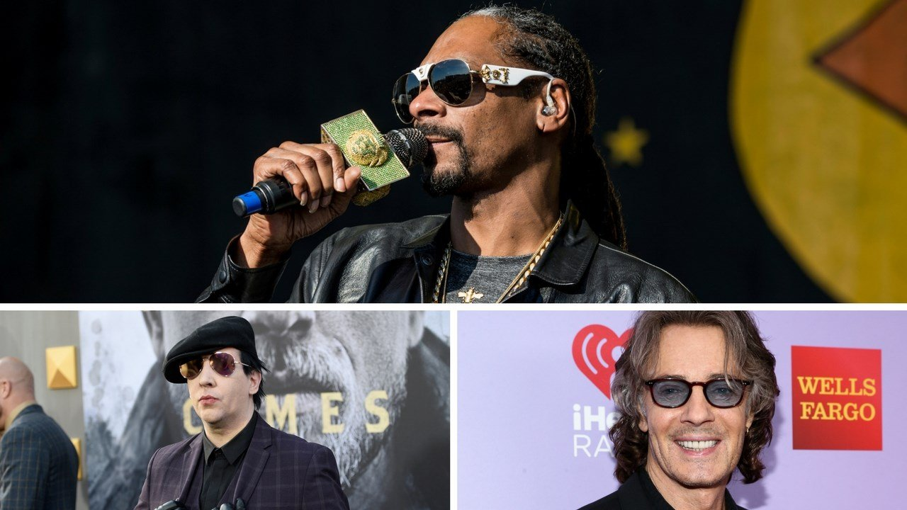 Snoop Dogg, Rick Springfield, and Marilyn Manson will all perform at this year's state fair (Source: Associated Press)