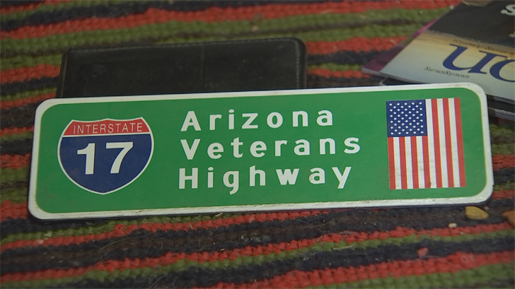 "He worked to rename part of Interstate 17 as ""Arizona Veterans Highway."" (Source: 3TV/CBS 5)"