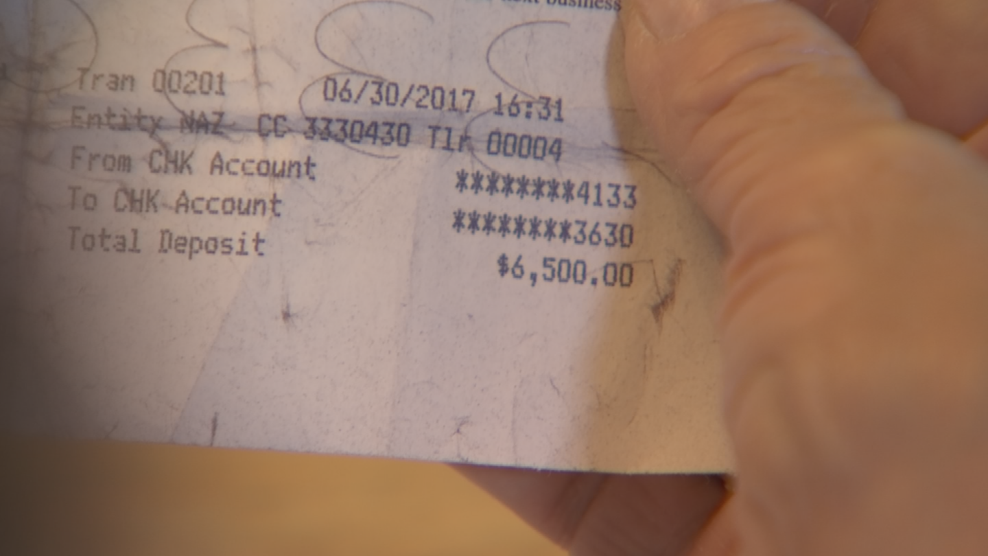 Orozco ended up forking over $13,000 to the scammers. (Source: 3TV/CBS 5)