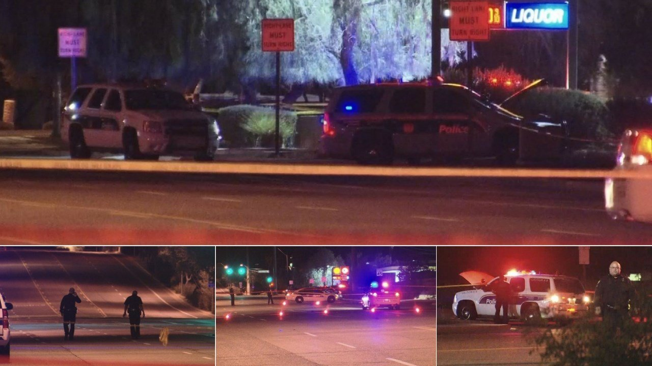 A 35-year-old suspect is dead after an officer-involved shooting in Phoenix early Wednesday morning. (Source: 3TV/CBS 5)
