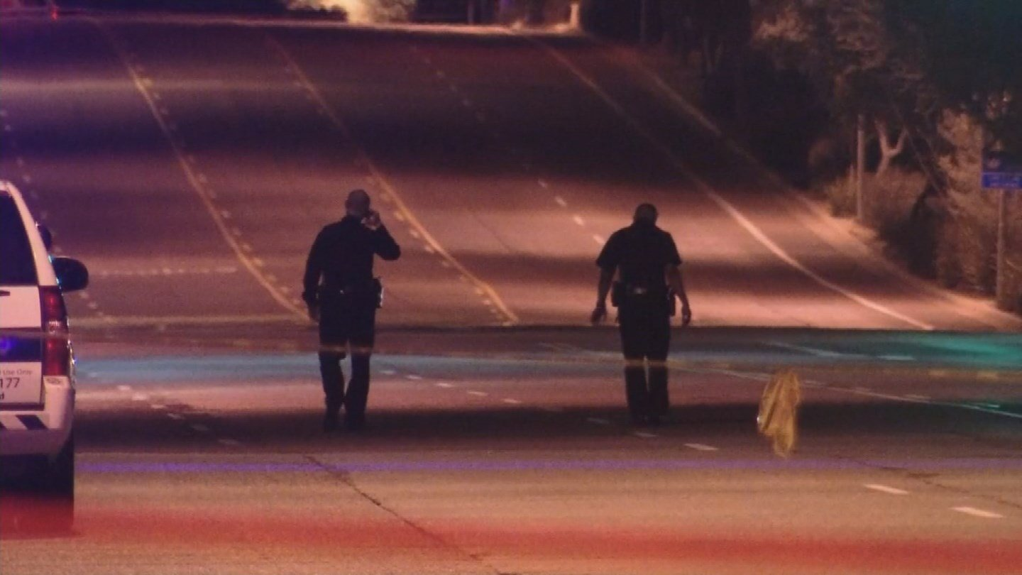 Both officers returned fire, shooting and killing the male suspect. (Source: 3TV/CBS 5)