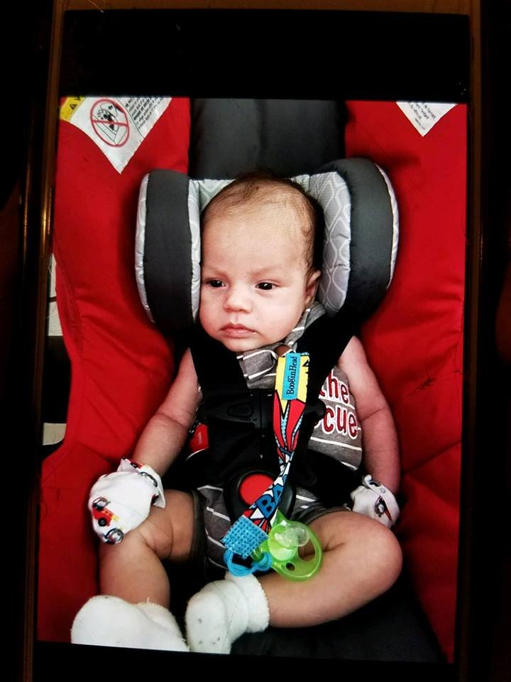 Israel Lopez, 1-month-old, abducted Wednesday morning from his Yuma home. (Source: Yuma Police Department)