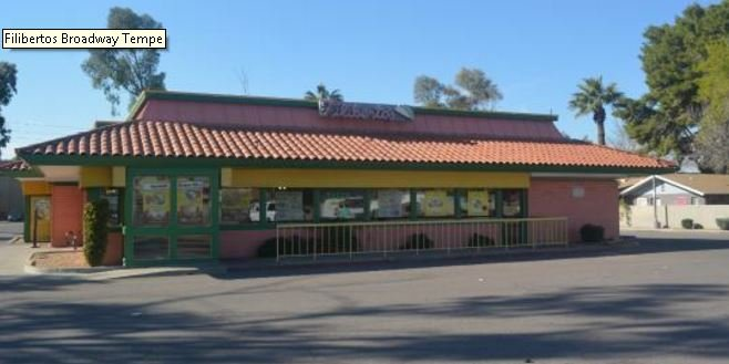 Filiberto's on Broadway Road in Tempe cited for 6 health code violations