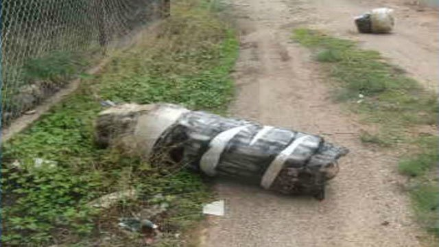 Authorities have seized more than 140 pounds (63.5 kilograms) of marijuana that was launched over the International Boundary Fence near Douglas. (Source: U.S. Border Patrol)
