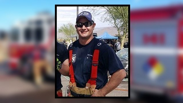 Daisy Mountain firefighter Luke Jones. (Source: Daisy Mountain Fire Department)