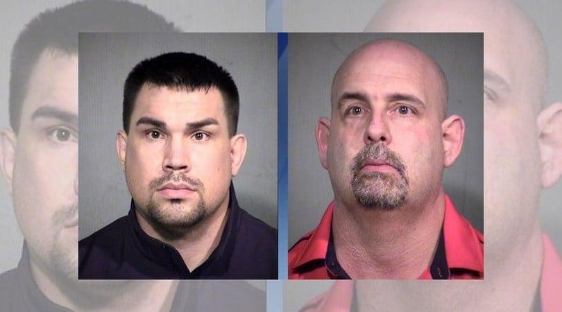 Brandon Douglas Draper (left); Timothy John Piegari (Source: Maricopa County Sheriff's Office)