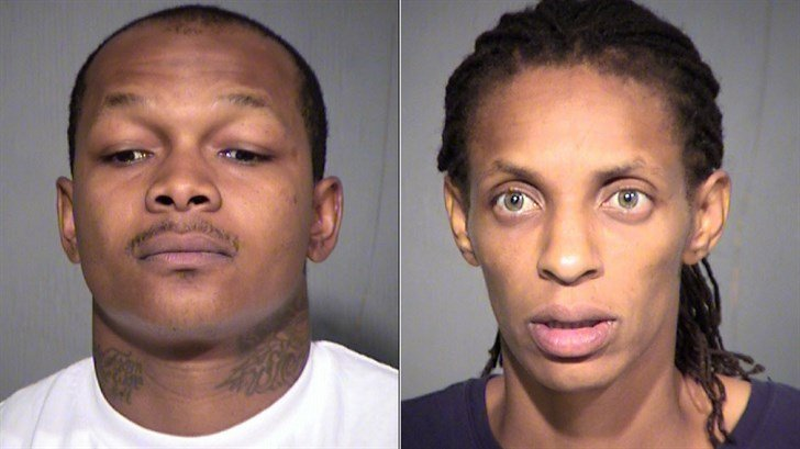 Demarrwo Oakley, left, and Stephanie Dorsey, right. (Source: Maricopa County Sheriff's Office) Demarrwo Oakley, left, and Stephanie Dorsey, right. (Source: Maricopa County Sheriff's Office)
