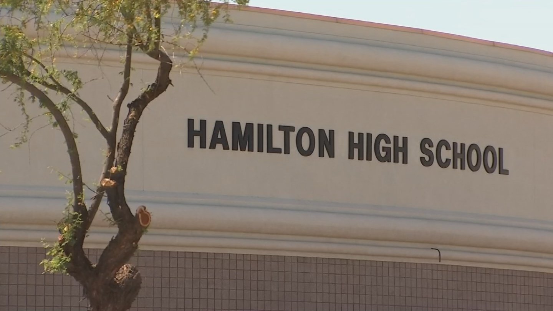 Hamilton High School in Chandler. (Source: 3TV/CBS 5 News)