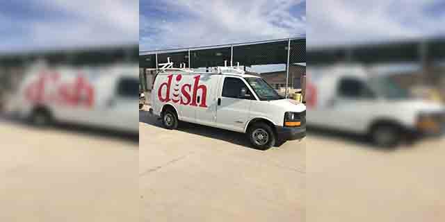When Dish Network van was inspected by a canine unit at the Ajo Border Patrol Station, it was revealed that there was $199,000 worth of marijuana inside, officials said. (Source: U.S. Customs and Border Protection)