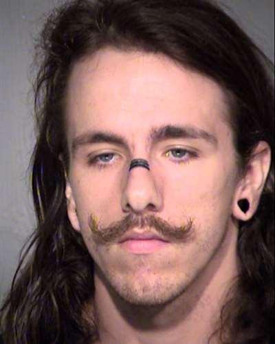 Mug shot of 22-year-old Daniel Kolden. (Source: MCSO)