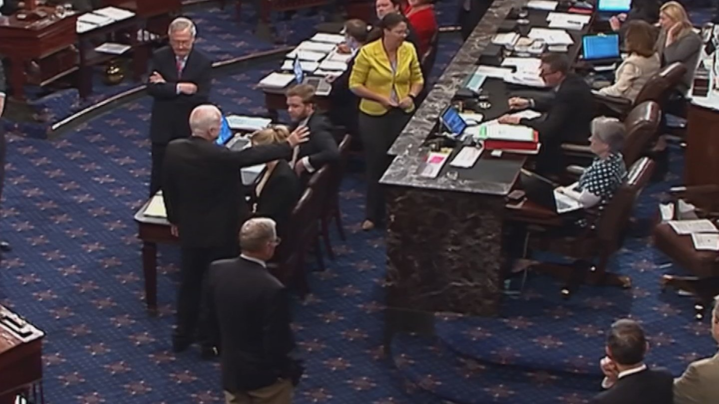 McCain votes no on repealing parts of former President Barack Obama's health law. (Source: C-SPAN)