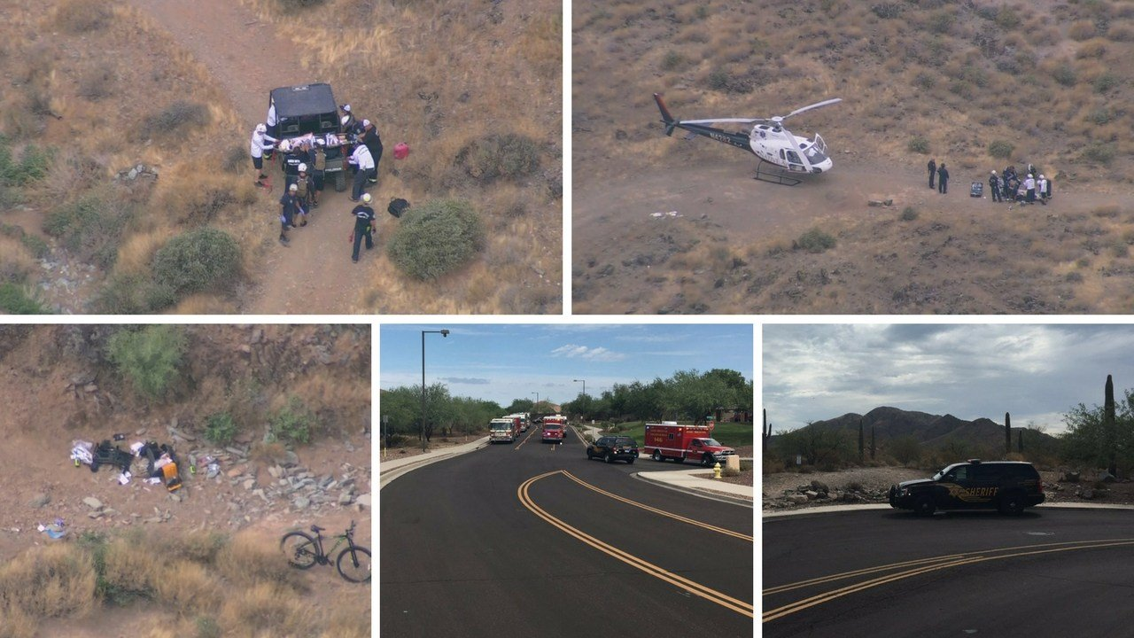 According to MCSO, the teen suffered a leg injury and severe head trauma.He was airlifted to PCH. (Source: 3TV/CBS 5, MCSO)